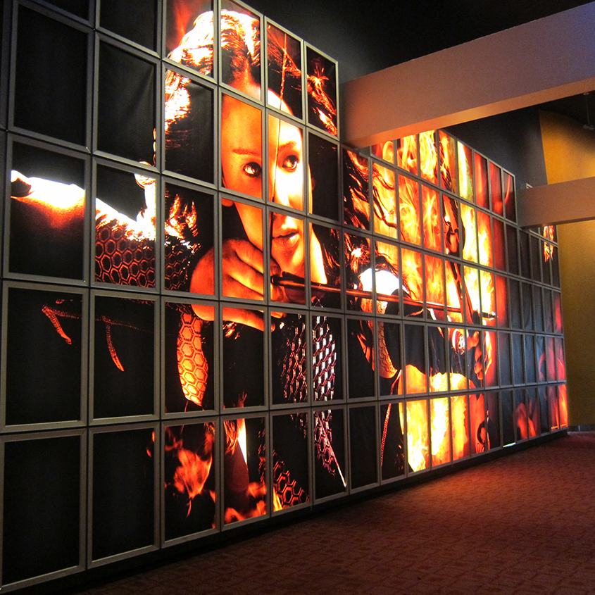 THE HUNGER GAMES:  CATCHING FIRE at the ArcLight Sherman Oaks in Southern California.
